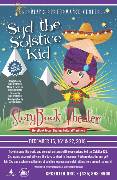 StoryBook Theater: Syd the Solstice Kid - Kirkland