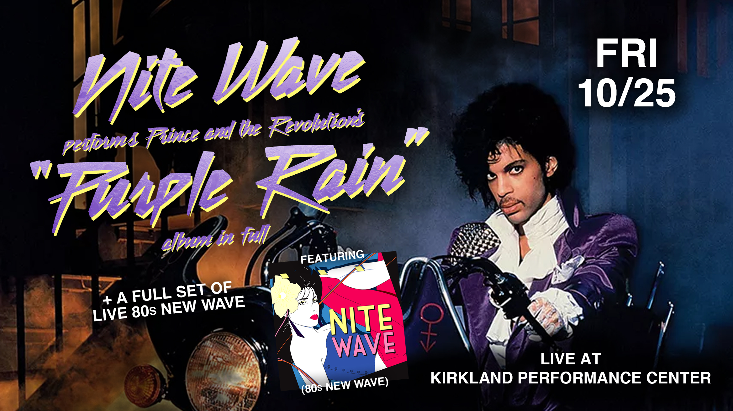 Nite Wave Performs Prince & The Revolution's